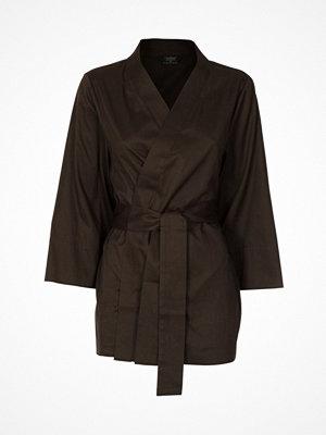 Pierre Robert X Jenny Skavlan Cotton Lounge Kimono Darkgreen