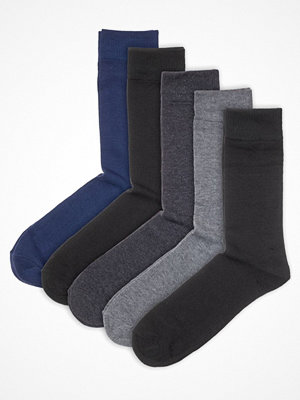 Strumpor - Pierre Robert 5-pack Eco Basic Socks Grey