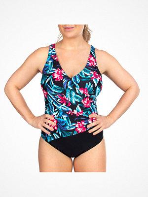 Trofé Trofe Tropical Aruba Swimsuit Black floral