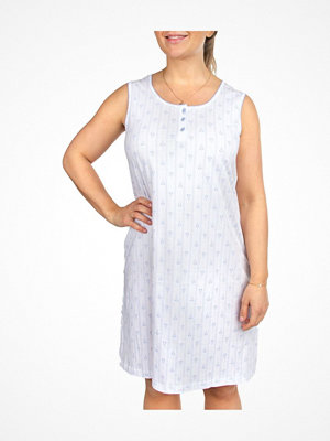 Nattlinnen - Trofé Trofe Cotton SL Nightdress White
