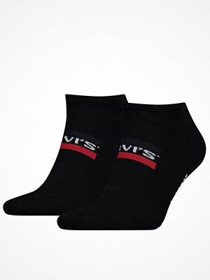 Levi's 2-pack Sportswear Logo Low Cut Sock Black