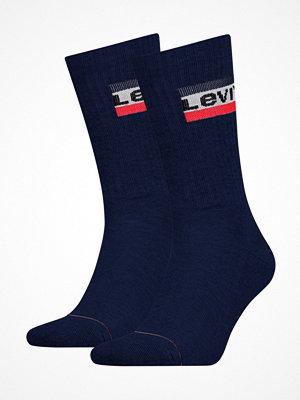 Strumpor - Levi's 2-pack Sport Regular Cut Sock Darkblue