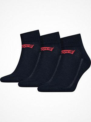 Strumpor - Levi's 3-pack Base Mid Cut Sock Darkblue