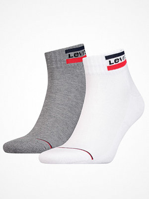 Levi's 2-pack Sport Mid Cut Sock White/Grey