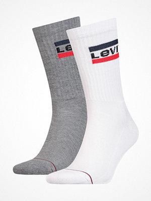 Levi's 2-pack Sport Regular Cut Sock White/Grey