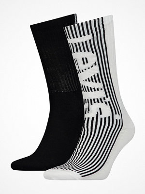 Strumpor - Levi's 2-pack Retro Regular Cut Sock Black/White