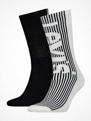 Levi's 2-pack Retro Regular Cut Sock Black/White