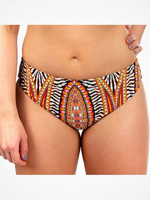 Missya Lucca Bikini Tai Orange patterned