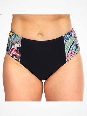Missya Milano Bikini Maxi Brief Black pattern-2