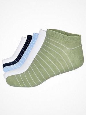 Pierre Robert 5-pack Low Cut Socks Striped