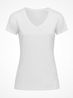 Stedman Janet Organic Women V-Neck White