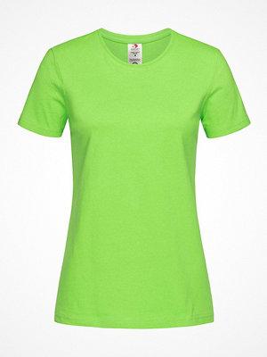 Stedman Classic T Organic Women Crew Neck Light green