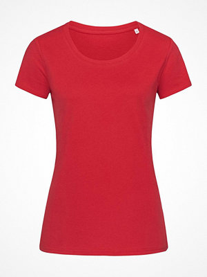 Stedman Janet Organic Women Crew Neck Red