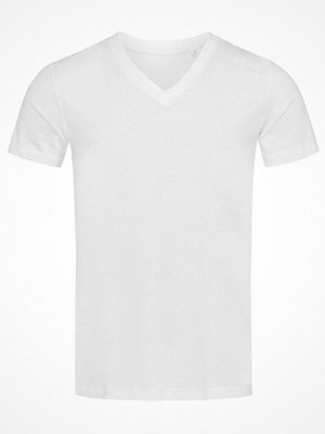 Stedman James Organic Men V-Neck White