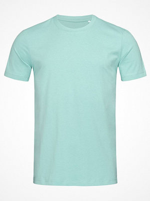 Stedman James Organic Men Crew Neck Turquoise