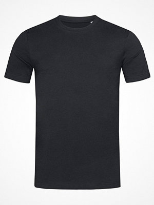 Stedman James Organic Men Crew Neck Black