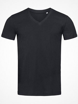 Stedman James Organic Men V-Neck Black
