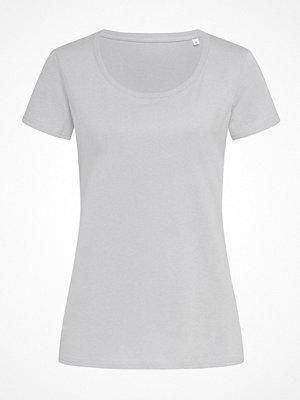 Pyjamas & myskläder - Stedman Janet Organic Women Crew Neck Grey