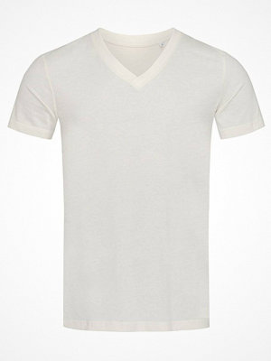 Stedman James Organic Men V-Neck Creme