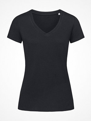 Stedman Janet Organic Women V-Neck Black