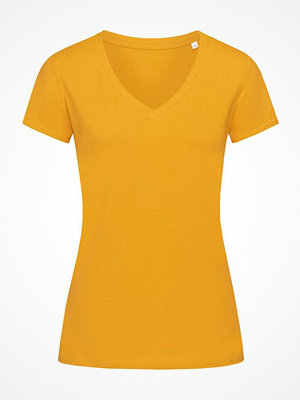 Stedman Janet Organic Women V-Neck Yellow