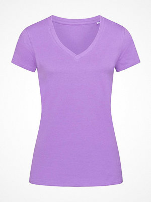 Pyjamas & myskläder - Stedman Janet Organic Women V-Neck Lilac