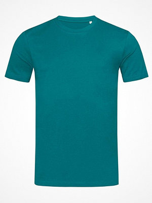 Stedman James Organic Men Crew Neck Bluegreen