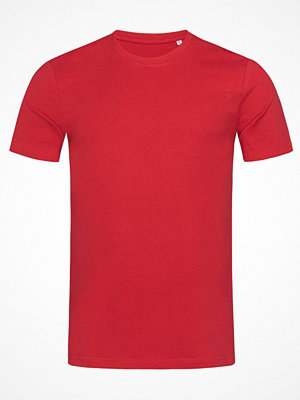 Stedman James Organic Men Crew Neck Red
