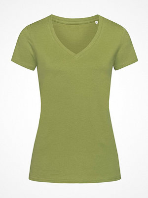 Stedman Janet Organic Women V-Neck Green