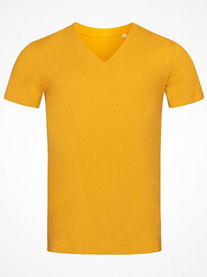 Stedman James Organic Men V-Neck Yellow