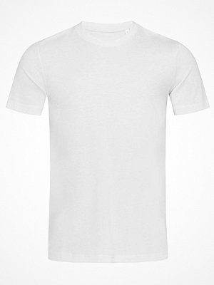 Stedman James Organic Men Crew Neck White