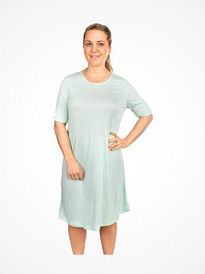 Nattlinnen - Trofé Trofe Bamboo SS Nightdress Mint green