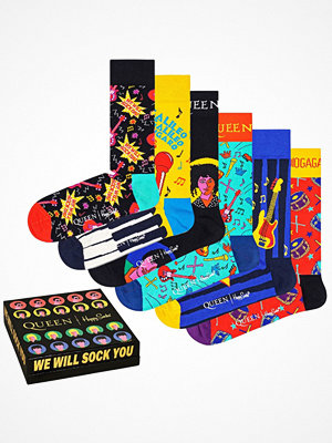 Strumpor - Happy Socks 6-pack Happy Socks Queen Gift Box Multi-colour