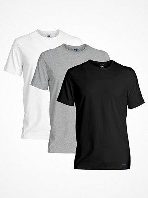 Ted Baker 3-pack 24 7 Basics Crewneck T-Shirt Black/Grey
