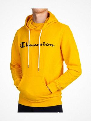 Champion American Classics Men Hooded Sweatshirt Mustard