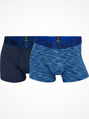 CR7 Cristiano Ronaldo 2-pack Fashion Microfiber Trunk Navy/Blue