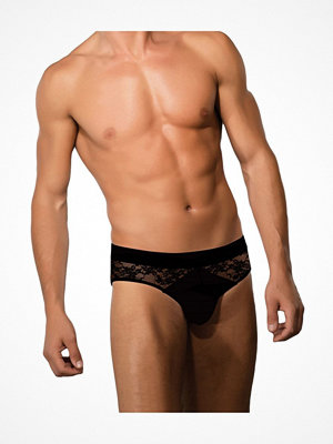 Kalsonger - Doreanse Men Sexy Lace Briefs Black