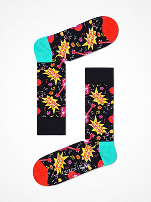 Happy Socks Happy Socks Queen Sock Black pattern-2