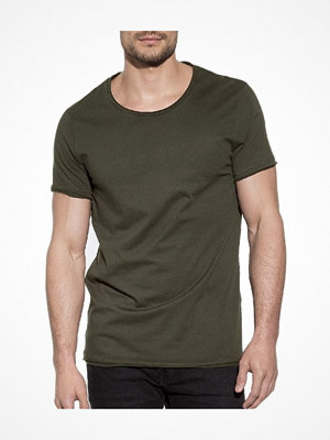Bread and Boxers Crew Neck Relaxed  Olive