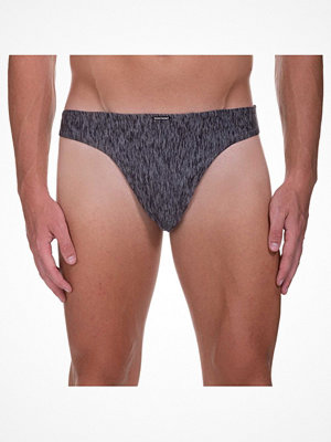 Bruno Banani Boarding Melange String Grey