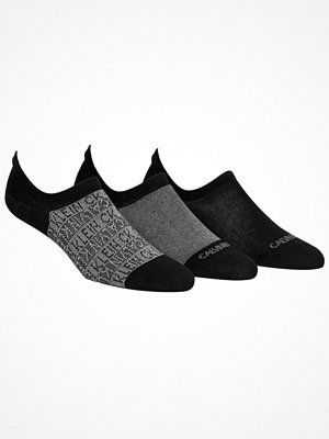 Calvin Klein 3-pack Troy Quarter Sock Black/Grey