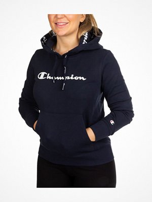 Champion American Classics Women Hooded Sweatshirt Navy-2