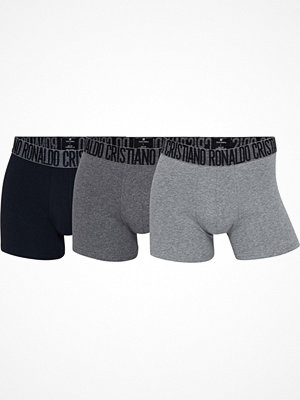 CR7 Cristiano Ronaldo 3-pack Men Trunk Darkgrey