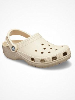Tofflor - Crocs Classic Unisex Beige
