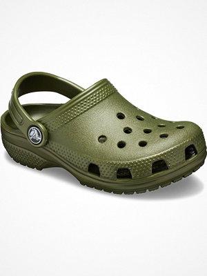 Tofflor - Crocs Classic Clog Kids Militarygreen