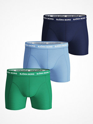 Björn Borg 3-pack Essential Shorts 213 Blue/Green