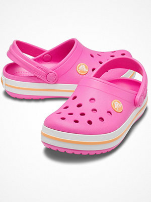 Crocs Crocband Clog Kids Pink/Yellow
