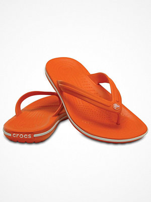 Tofflor - Crocs Crocband Flip Unisex Orange