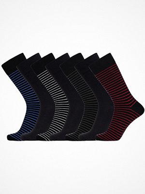 JBS 7-pack Bamboo Socks Black striped