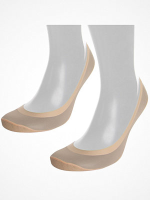 Strumpor - Pierre Robert 2-pack Seamless Steps Sock Beige